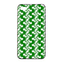 Candy Illustration Pattern Apple Iphone 4/4s Seamless Case (black)