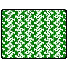 Candy Illustration Pattern Double Sided Fleece Blanket (Large)