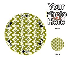 Candy Illustration Pattern Playing Cards 54 (round)