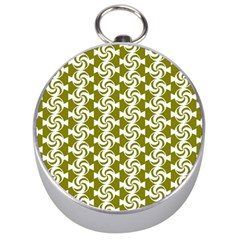 Candy Illustration Pattern Silver Compasses