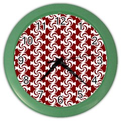 Candy Illustration Pattern Color Wall Clocks