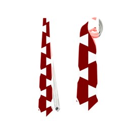 Candy Illustration Pattern Neckties (one Side)