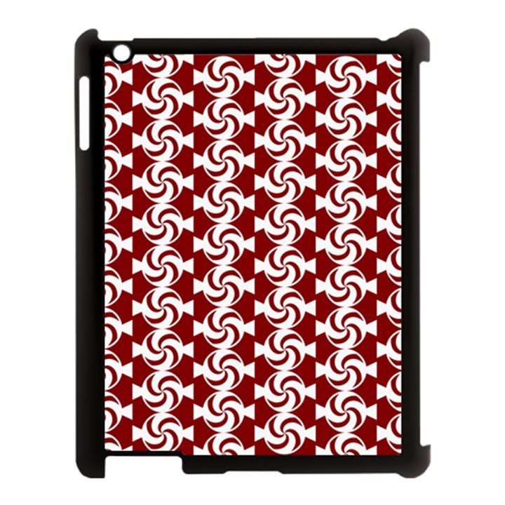 Candy Illustration Pattern Apple iPad 3/4 Case (Black)