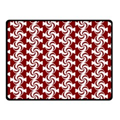 Candy Illustration Pattern Double Sided Fleece Blanket (Small)