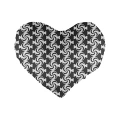 Candy Illustration Pattern Standard 16  Premium Flano Heart Shape Cushions