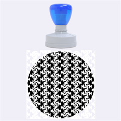 Candy Illustration Pattern Rubber Round Stamps (large)