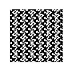 Candy Illustration Pattern Small Satin Scarf (square)