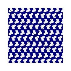 Cute Baby Socks Illustration Pattern Acrylic Tangram Puzzle (6  X 6 )