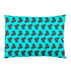 Cute Baby Socks Illustration Pattern Pillow Cases (Two Sides)