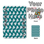 Cute Baby Socks Illustration Pattern Playing Cards 54 Designs  Front - Joker1