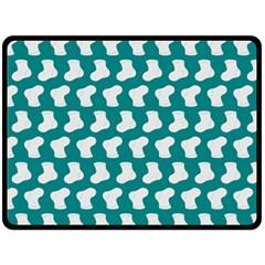 Cute Baby Socks Illustration Pattern Double Sided Fleece Blanket (large)