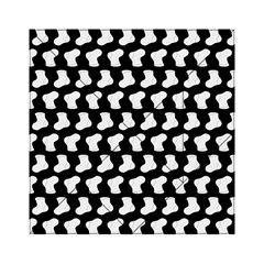 Black And White Cute Baby Socks Illustration Pattern Acrylic Tangram Puzzle (6  x 6 )