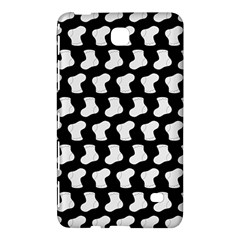 Black And White Cute Baby Socks Illustration Pattern Samsung Galaxy Tab 4 (7 ) Hardshell Case