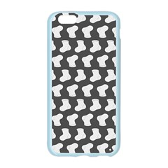 Cute Baby Socks Illustration Pattern Apple Seamless iPhone 6 Case (Color)