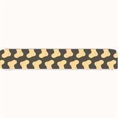 Cute Baby Socks Illustration Pattern Small Bar Mats