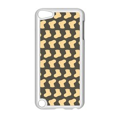 Cute Baby Socks Illustration Pattern Apple Ipod Touch 5 Case (white)