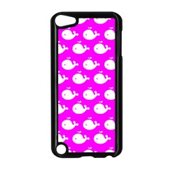 Cute Whale Illustration Pattern Apple Ipod Touch 5 Case (black)