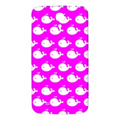 Cute Whale Illustration Pattern Samsung Galaxy Mega I9200 Hardshell Back Case