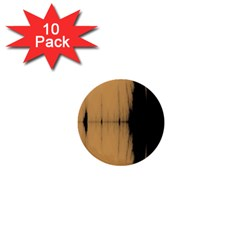 Sunset Black 1  Mini Buttons (10 pack)