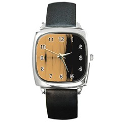 Sunset Black Square Metal Watches