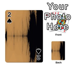Sunset Black Playing Cards 54 Designs