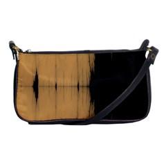 Sunset Black Shoulder Clutch Bags