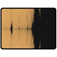 Sunset Black Fleece Blanket (Large)