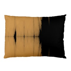 Sunset Black Pillow Cases (Two Sides)