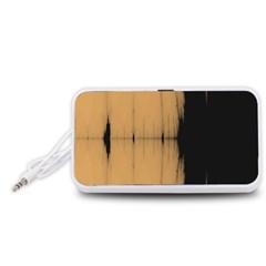 Sunset Black Portable Speaker (White)
