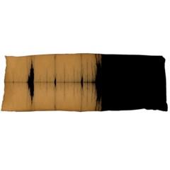 Sunset Black Body Pillow Cases Dakimakura (Two Sides)
