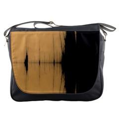 Sunset Black Messenger Bags