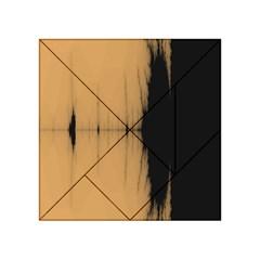 Sunset Black Acrylic Tangram Puzzle (4  X 4 )