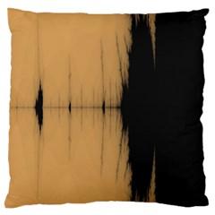 Sunset Black Large Cushion Cases (one Side)