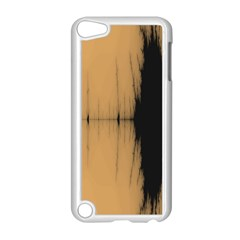 Sunset Black Apple iPod Touch 5 Case (White)