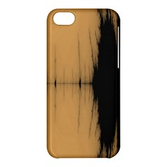 Sunset Black Apple Iphone 5c Hardshell Case