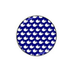 Cute Whale Illustration Pattern Hat Clip Ball Marker
