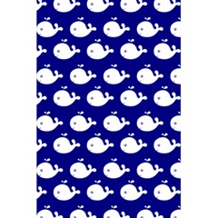 Cute Whale Illustration Pattern 5.5  x 8.5  Notebooks