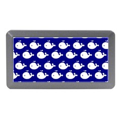Cute Whale Illustration Pattern Memory Card Reader (Mini)