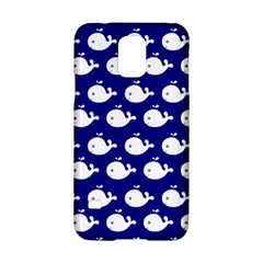 Cute Whale Illustration Pattern Samsung Galaxy S5 Hardshell Case