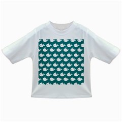 Cute Whale Illustration Pattern Infant/Toddler T-Shirts