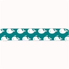 Cute Whale Illustration Pattern Small Bar Mats