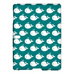 Cute Whale Illustration Pattern Samsung Galaxy Tab S (10.5 ) Hardshell Case