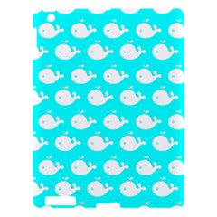 Cute Whale Illustration Pattern Apple Ipad 3/4 Hardshell Case