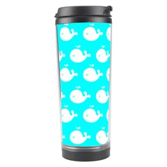 Cute Whale Illustration Pattern Travel Tumblers