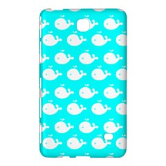 Cute Whale Illustration Pattern Samsung Galaxy Tab 4 (8 ) Hardshell Case