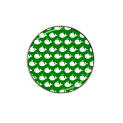 Cute Whale Illustration Pattern Hat Clip Ball Marker (10 Pack)