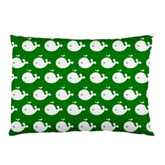 Cute Whale Illustration Pattern Pillow Cases
