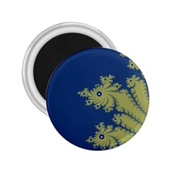 Blue And Green Design 2 25  Magnets