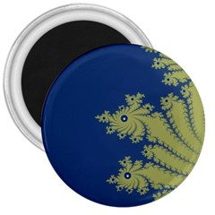 Blue and Green Design 3  Magnets