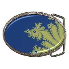 Blue And Green Design Belt Buckles